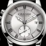 GRAHAM Chronofighter 1695 Silver Watch