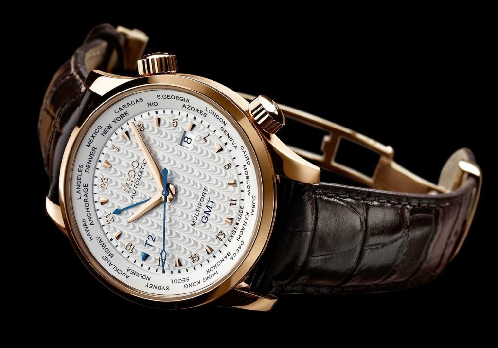 MIDO MULTIFORT 80th Anniversary GMT Edition (Ref. M005.929.36.031.00) 2