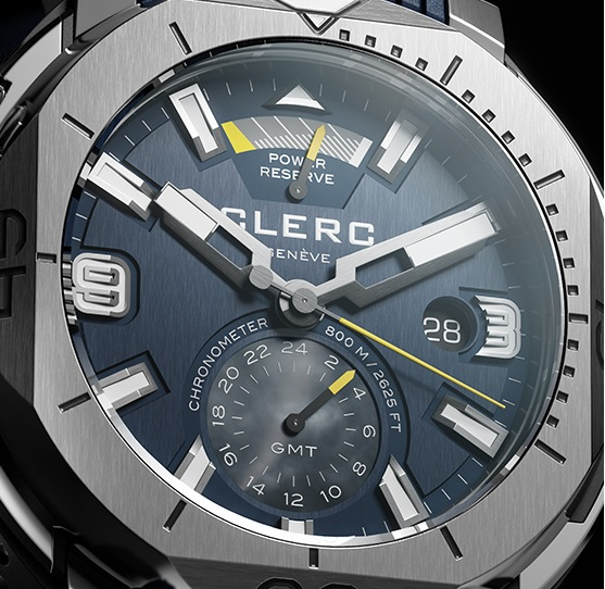 Clerc Hydroscaph GMT Power Reserve Chronometer