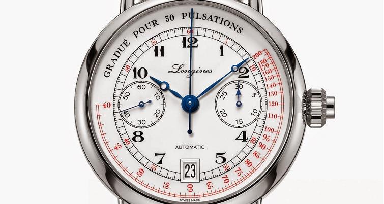 Longines Pulsometer Chronograph Watch