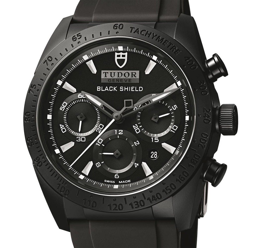 Tudor-Fastrider-Black-Shield-42000CN-dial