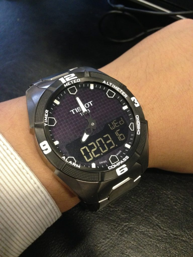 A Fortnight Review 2 Weeks With The Tissot T Touch Expert Solar Titanium T091 420 44 051 00 Watch