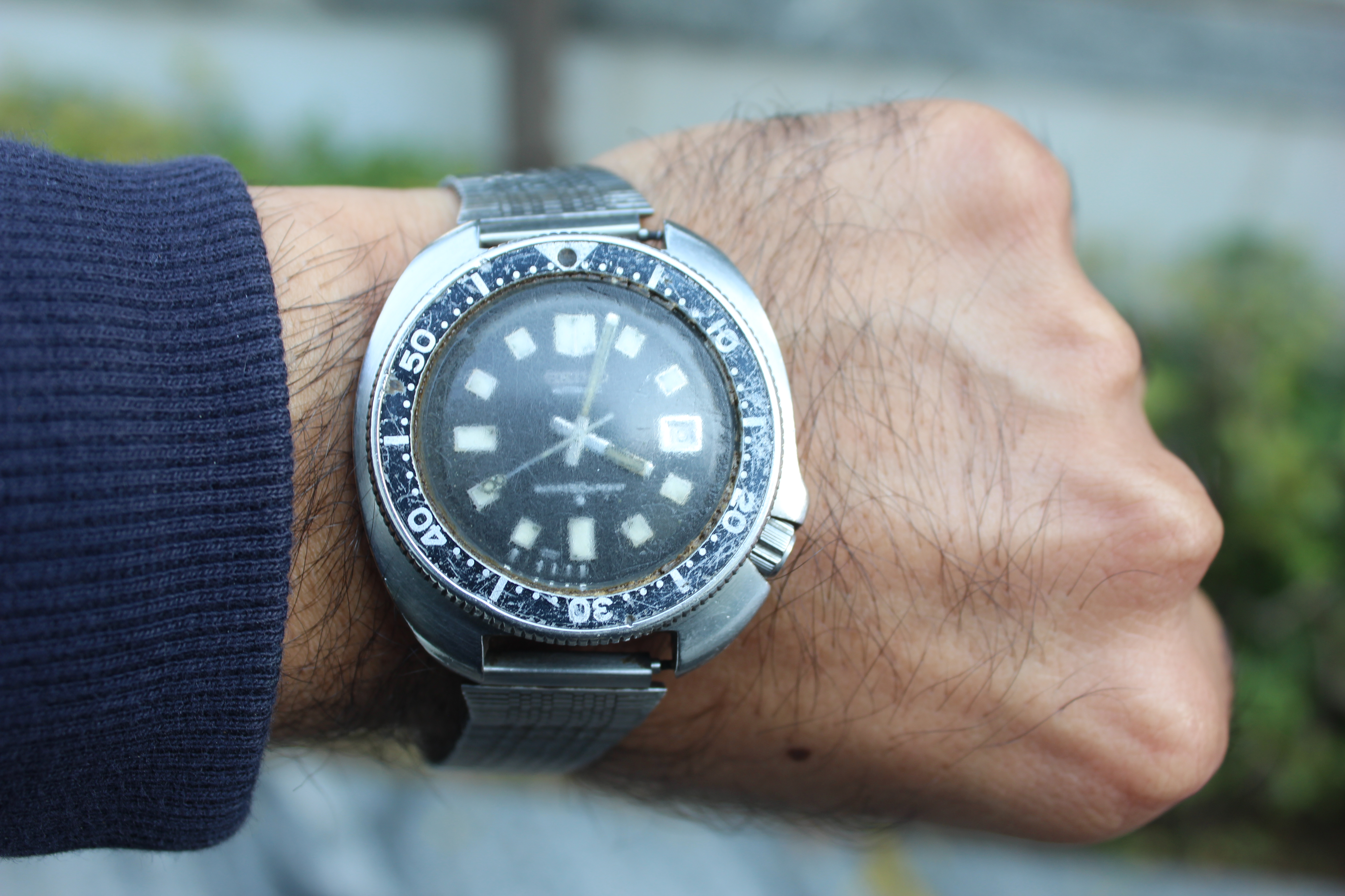 Seiko 6105-8110 Diver Watch Review
