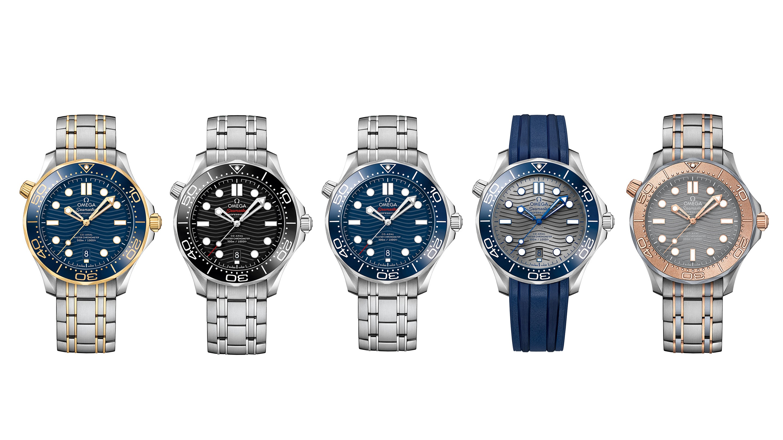 Baselworld 2018 omega seamaster professional diver 300m watch for Omega diver