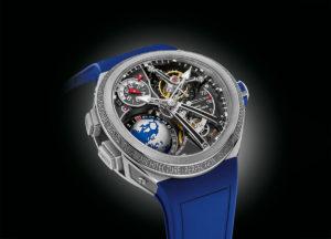 Présentation de la montre de sport Greubel Forsey GMT