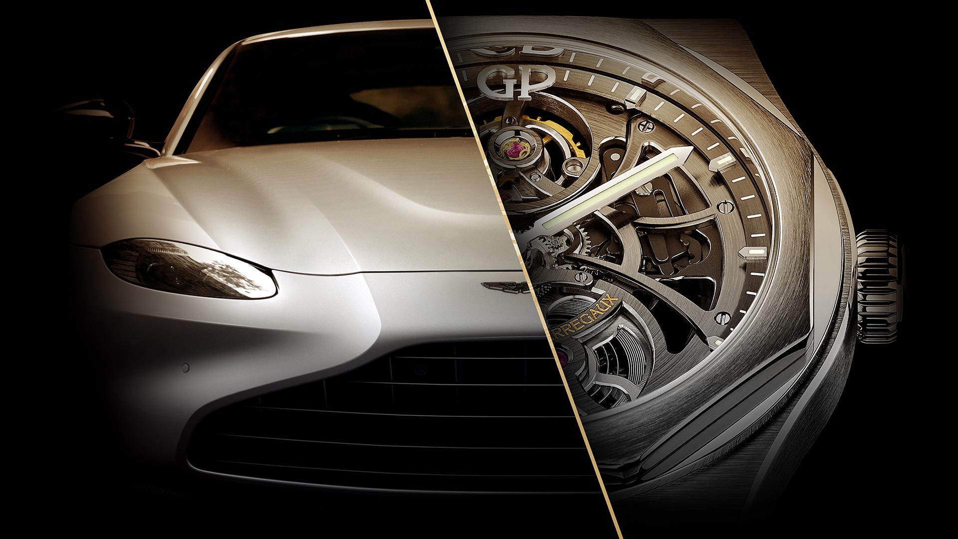 Girard Perregaux Announces Official Partnership With Aston Martin